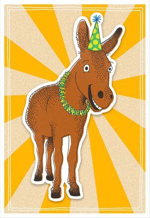 Happy Ass Funny Birthday Card