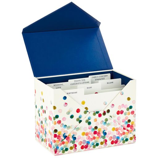 Assorted Everyday Cards Organized in Storage Box, Box of 24,