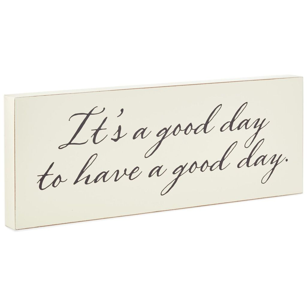 how to sign have a good day