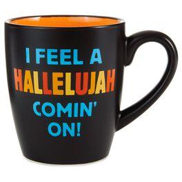 Hallelujah Ceramic Mug, 14 oz., , large