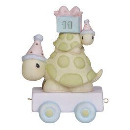 Precious Moments® It's Your Birthday Turtle Pair  Figurine, Age 11, , large