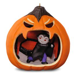 Happy Halloween! Cute Little Vampire Ornament, , large