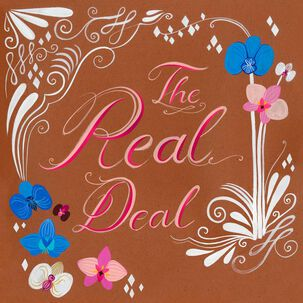 The Real Deal Wedding Card