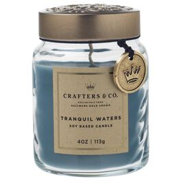 Crafters & Co. Tranquil Waters Candle, 4-oz, , large