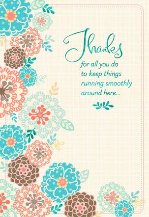 Can't Do It Without You Administrative Professionals Day Card