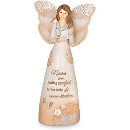 Light Your Way Every Day Nurse Angel Figurine, , large