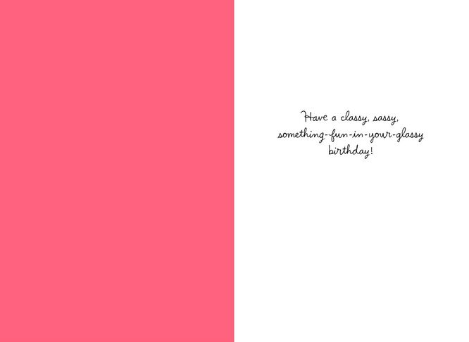 Fancy party drink with umbrella birthday card greeting cards fancy party drink with umbrella birthday card m4hsunfo Gallery