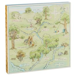 Hundred Acre Wood Map, , large