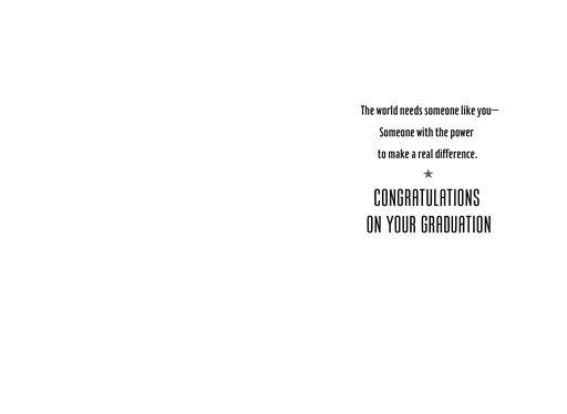 Wonder Woman™ Graduation Card,