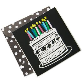 Birthday Cake Gift Tag, , large