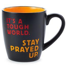 Stay Prayed Up Faith Ceramic Mug, , large