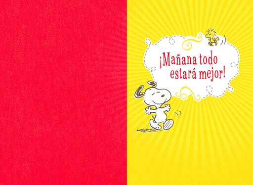 Peanuts® Snoopy Spanish-Language Encouragement Card,