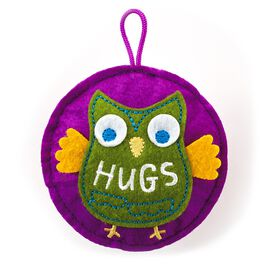 Recordable Hugs Sound Charm Token, , large