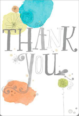 Ordinary Kindness Thank You Card