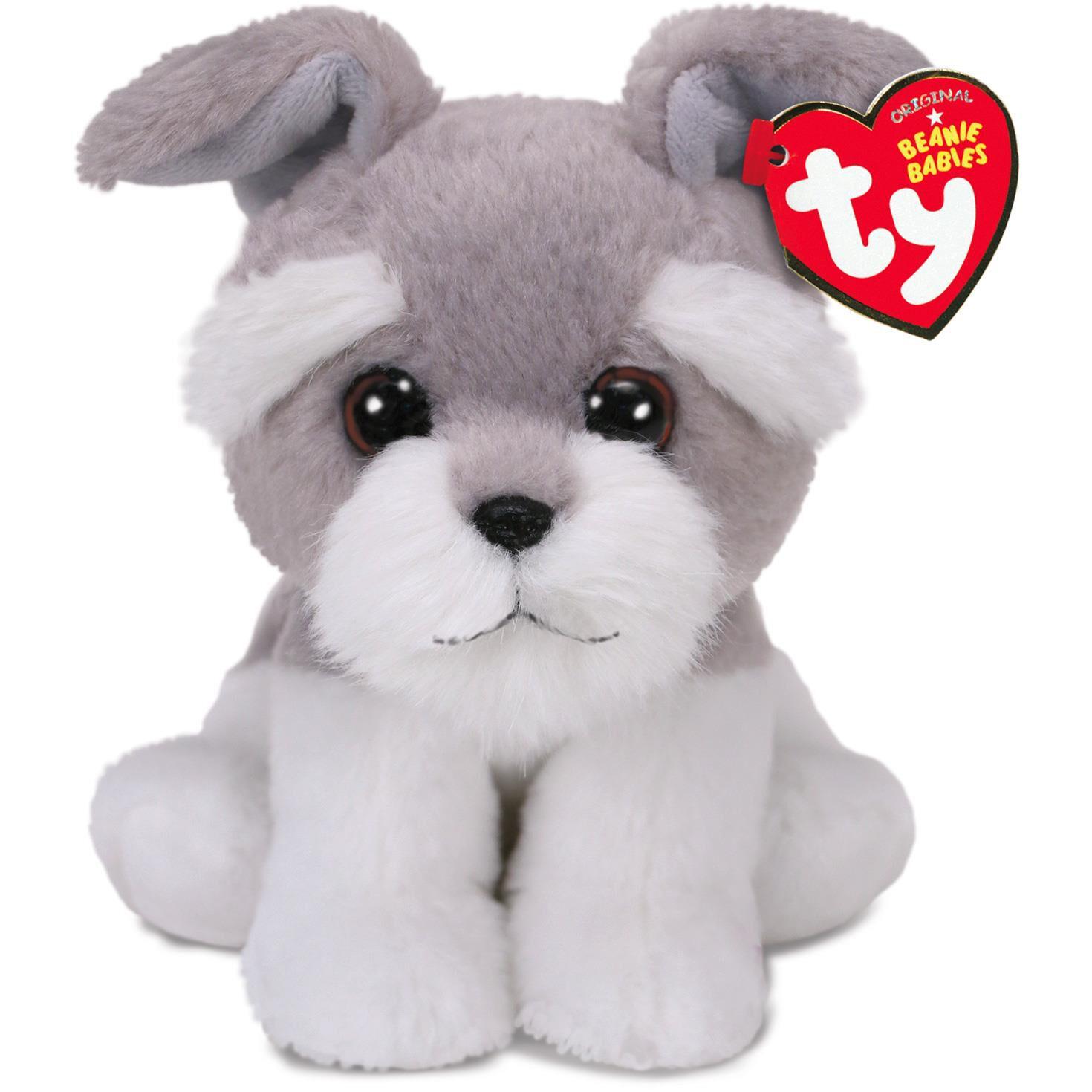 e768d4067 Ty® Beanie Babies Harper Grey Dog Stuffed Animal, 6