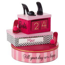 Barbie™ Perpetual Calendar, , large