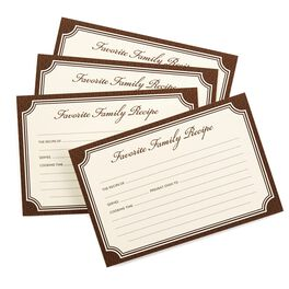 Heirloom Recipe Refill Cards, , large
