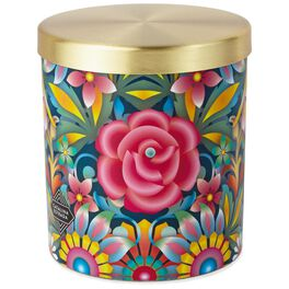 Catalina Estrada Blue Rose Candle, , large