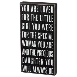 Primitives by Kathy You Are Loved Box Sign, , large