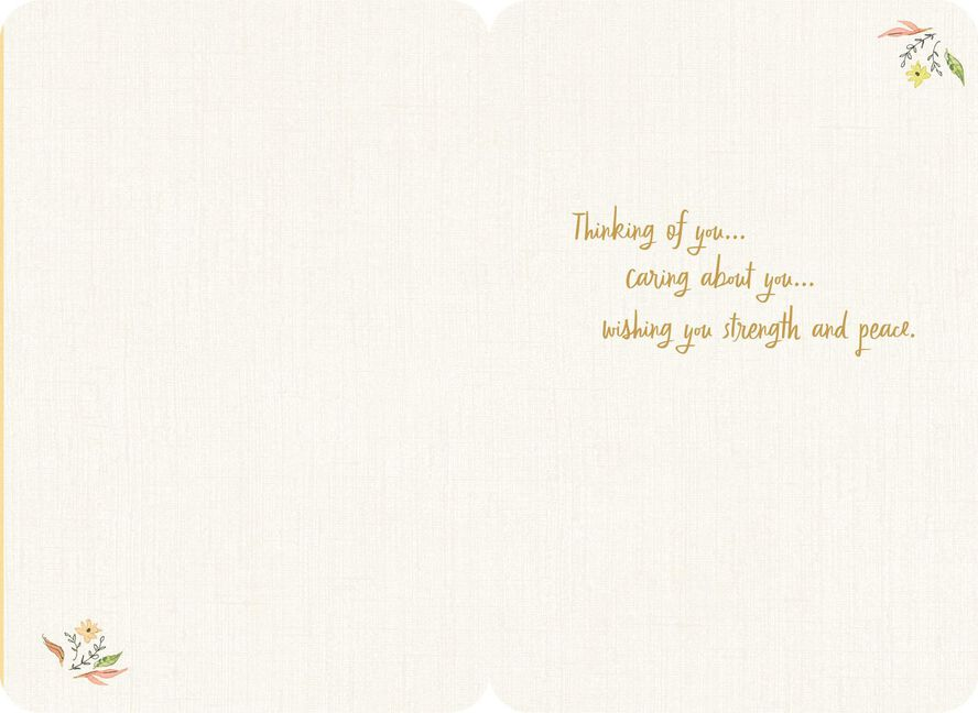 Comfort support courage thinking of you card greeting cards support courage thinking of you card m4hsunfo