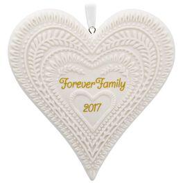 Forever Family Porcelain Ornament, , large