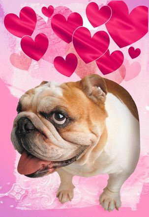Atomic Puppy Love Musical Valentine's Day Card