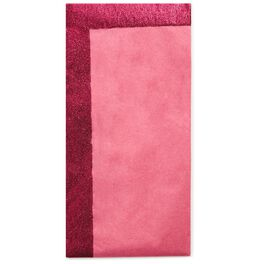 Bright Pink Tissue Paper With Glitter Edges, 4 Sheets, , large