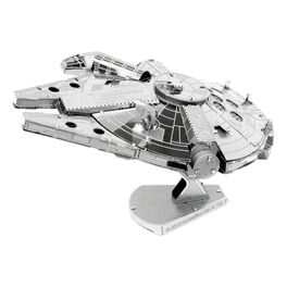 Fascinations 251 Star Wars Millennium Falcon Metal Earth 3D Metal Model Kit, , large