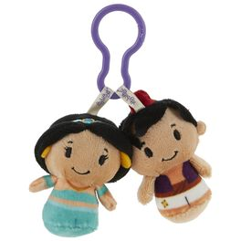 Disney Aladdin and Jasmine itty bittys® Clippys Stuffed Animals, , large
