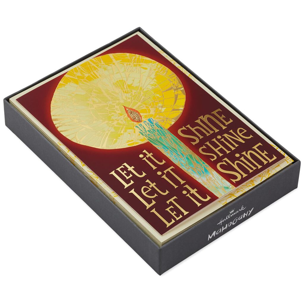 Let it Shine! Christmas Cards, Box of 16 - Boxed Cards - Hallmark