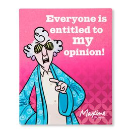 Maxine Opinion Sign, , large