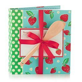 Strawberry Recipe Binder Gift Set, , large