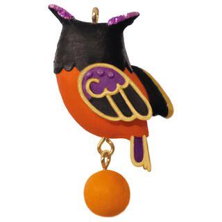 Wee Little Owl Mini Halloween Ornament,