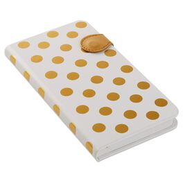 Gold Dot Slim Journal, , large