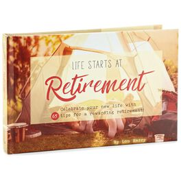 Life Starts at Retirement Book, , large