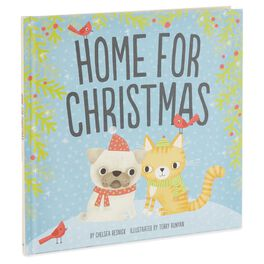 Home for Christmas Pet Adoption Holiday Book, , large