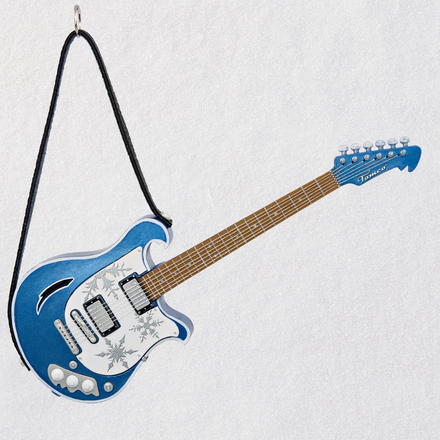 Free Bird Guitar Musical Ornament Keepsake Ornaments Hallmark