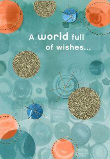 Full of Wishes Anyone Birthday Card,