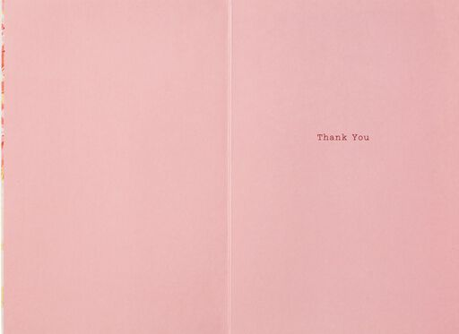 Kindness Is Beautiful Thank You Card,