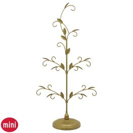 Gold Miniature Display Tree, , large