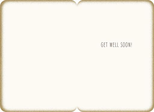 Sit, Stay, Heal Puppy Dog Speedy Recovery Card,