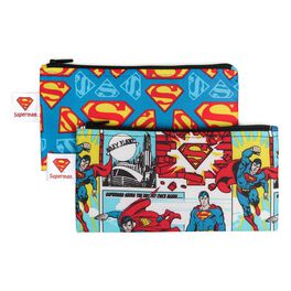 SUPERMAN™  Small Reusable Snack Bags by Bumkins, 2 Count, , large