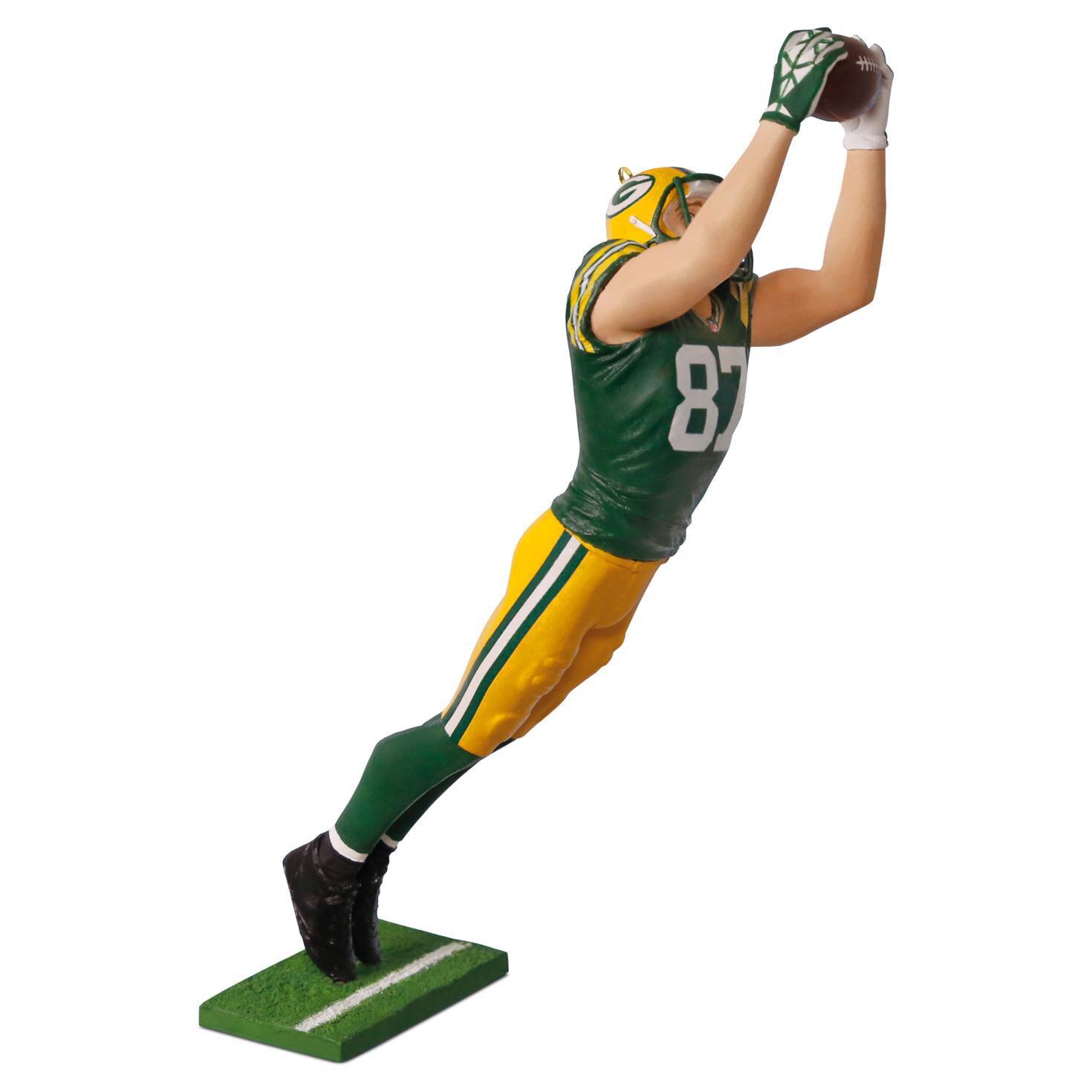 Football player ornament - Nfl Green Bay Packers Jordy Nelson Ornament Keepsake Ornaments Hallmark