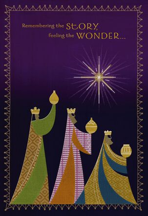 Feel the Wonder Christmas Card