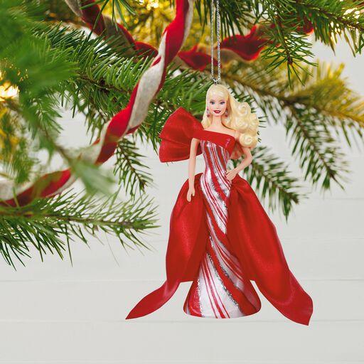 Barbie Christmas Ornament.2019 African American Holiday Barbie Doll Ornament Keepsake