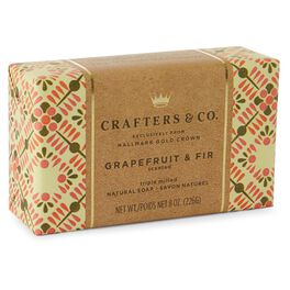 Grapefruit and Fir Luxury Bar Soap, , large