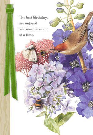 Marjolein Bastin Beauty in Nature Birthday Card