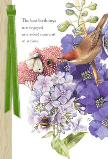 Marjolein Bastin Beauty in Nature Birthday Card,