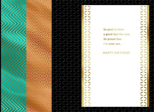 Important Footsteps Birthday Card For Dad