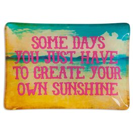 Natural Life Glass Tray Create Your Own Sunshine, , large